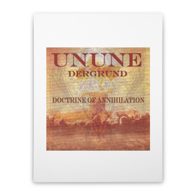 UNUNE - The Doctrine of Annihilation Home Stretched Canvas by Venus Aeon (clothing)