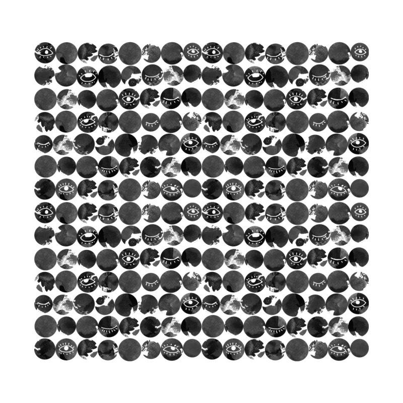 Ink polkadot pattern with eyes by venygret's Artist Shop