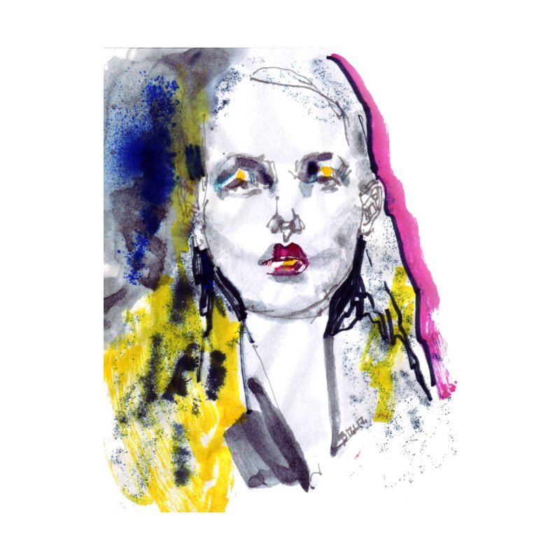 Fashion Model Illustration by venygret's Artist Shop