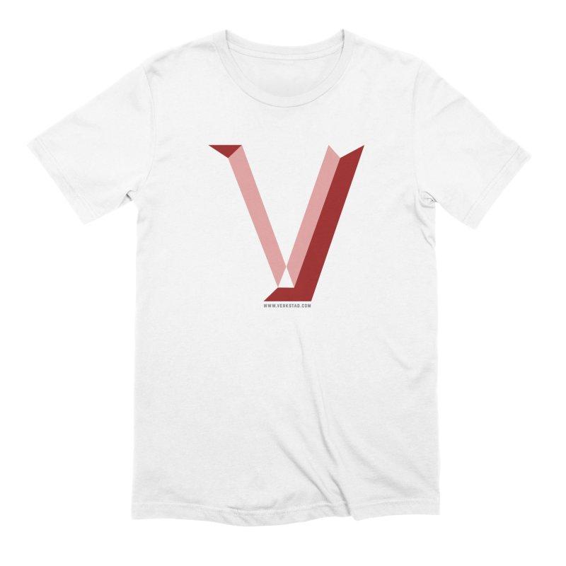 Verkstad Logo T Men's Extra Soft T-Shirt by Verkstad