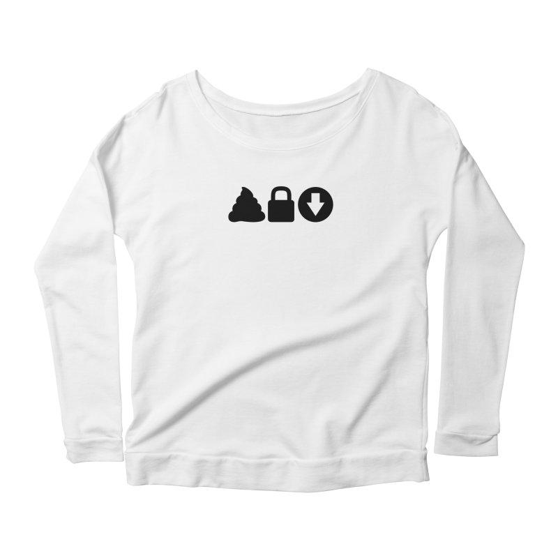 SLD (dark) Women's Scoop Neck Longsleeve T-Shirt by Verkstad
