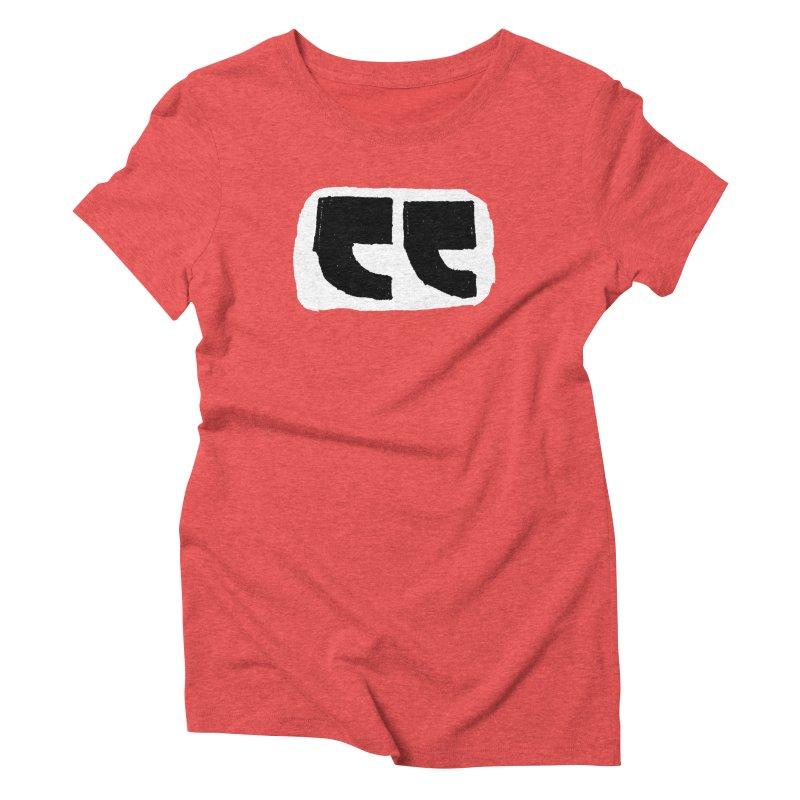 Half Quote Women's Triblend T-Shirt by Verkstad