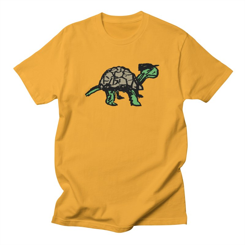 Union Turtle in Men's Regular T-Shirt Gold by Verkstad