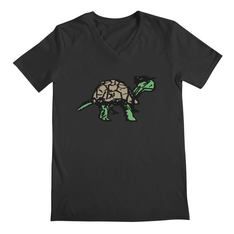 Union Turtle Men's Regular V-Neck by Verkstad