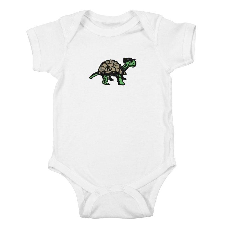 Union Turtle Kids Baby Bodysuit by Verkstad
