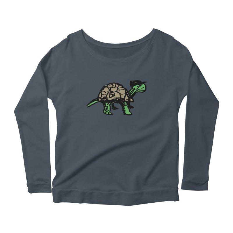 Union Turtle Women's Scoop Neck Longsleeve T-Shirt by Verkstad