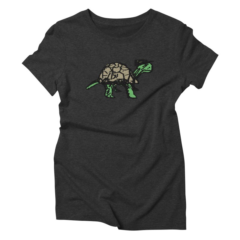 Union Turtle Women's Triblend T-Shirt by Verkstad