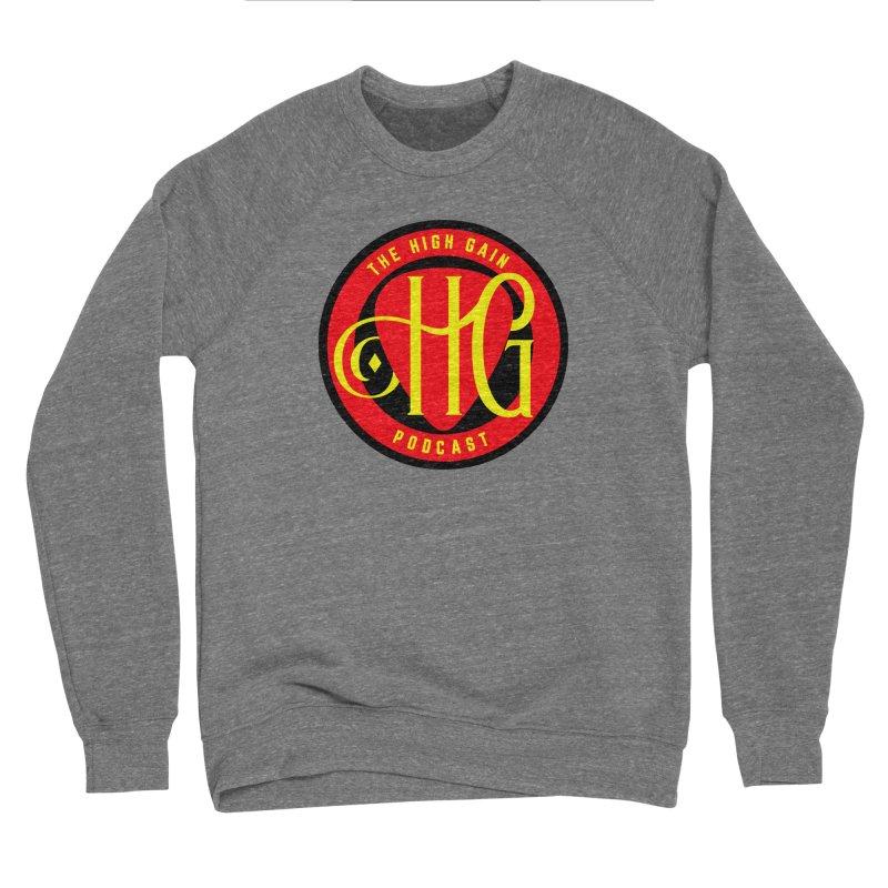 The High Gain (circle) Women's Sponge Fleece Sweatshirt by Verkstad