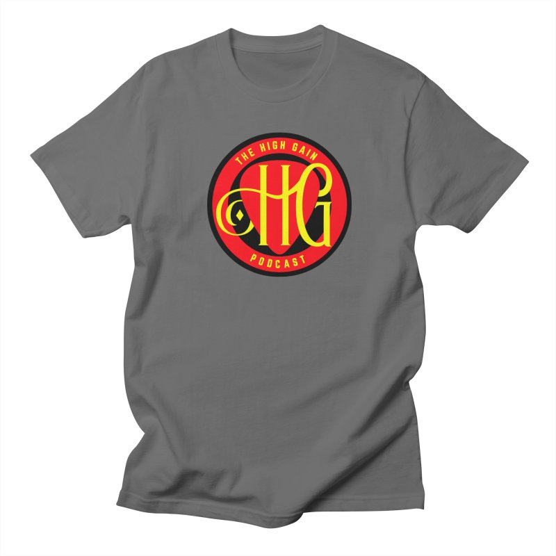 The High Gain (circle) Women's Regular Unisex T-Shirt by Verkstad