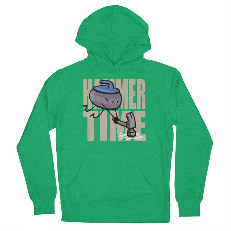 Hammer Time Women's French Terry Pullover Hoody by Friday the Shirteenth