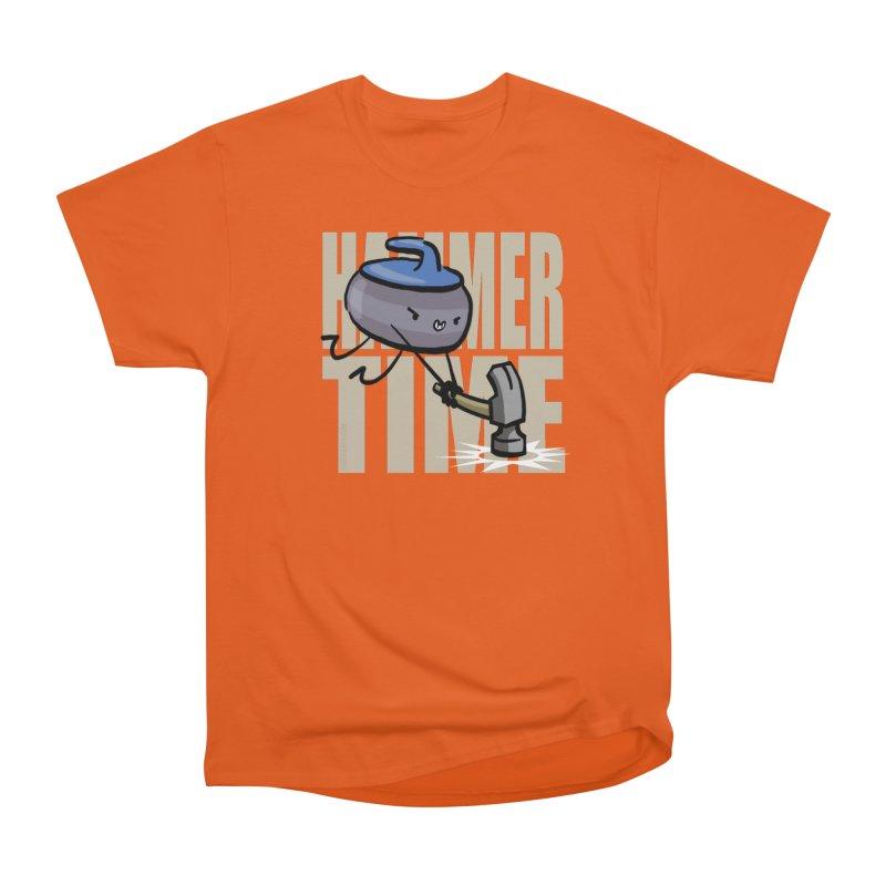 Hammer Time Women's Heavyweight Unisex T-Shirt by Friday the Shirteenth