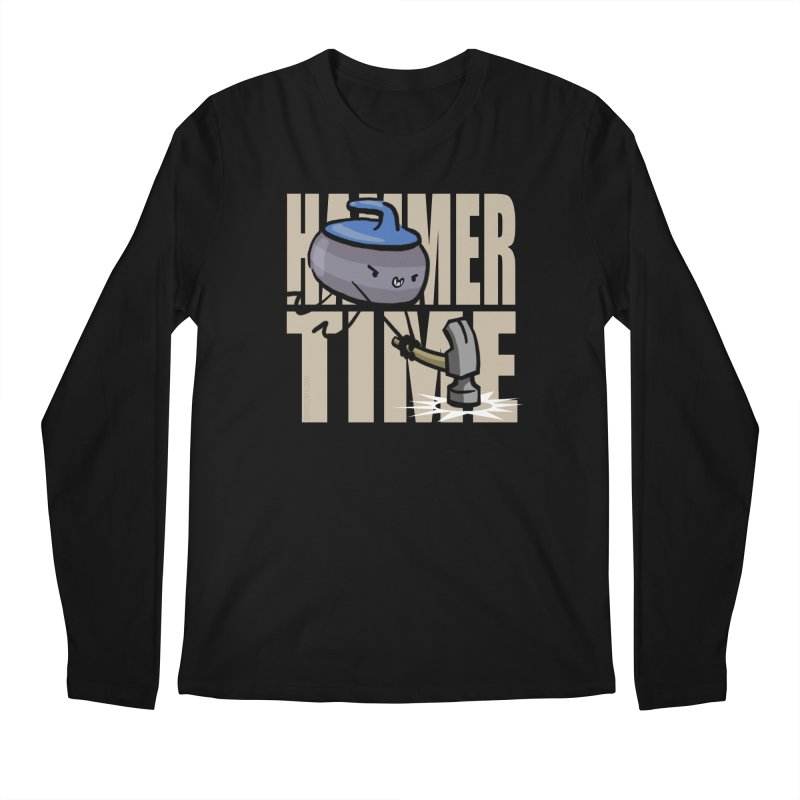 Hammer Time Men's Regular Longsleeve T-Shirt by Friday the Shirteenth
