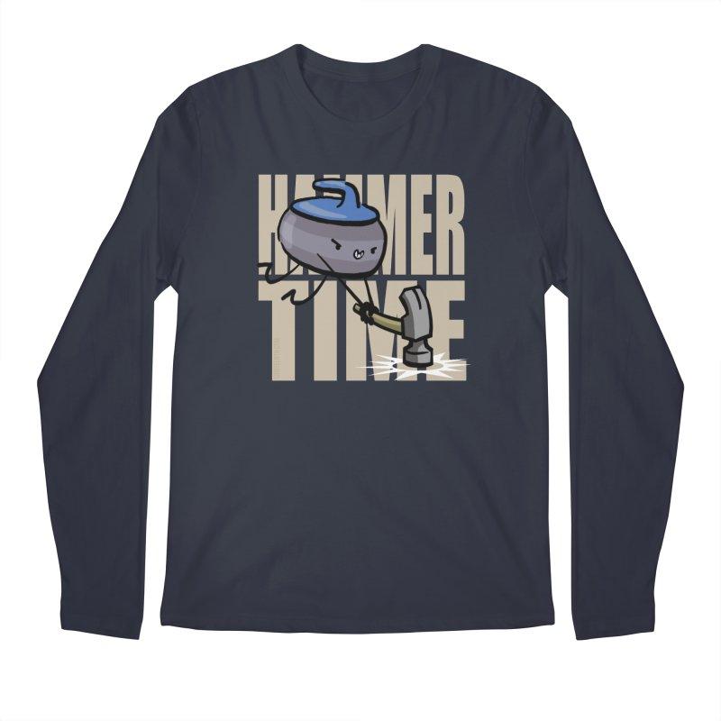 Hammer Time Men's Regular Longsleeve T-Shirt by Friday the Shirteenth