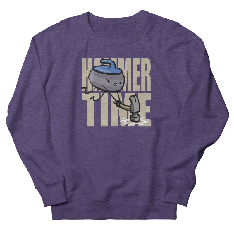 Hammer Time Women's French Terry Sweatshirt by Friday the Shirteenth