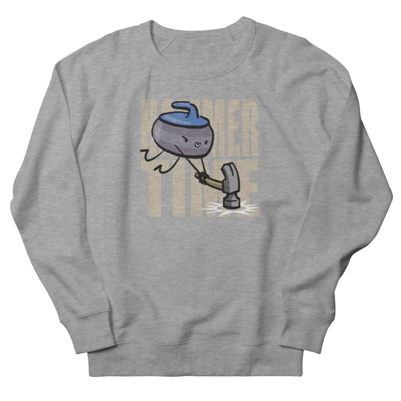 Hammer Time Men's French Terry Sweatshirt by Friday the Shirteenth