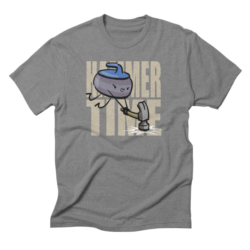 Hammer Time Men's Triblend T-Shirt by Friday the Shirteenth