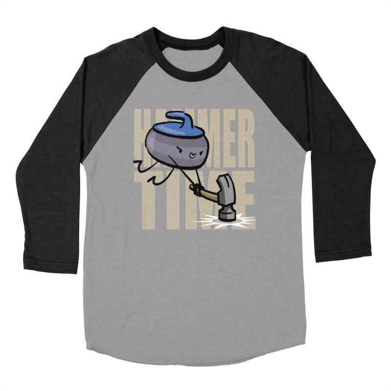 Hammer Time Women's Baseball Triblend Longsleeve T-Shirt by Friday the Shirteenth