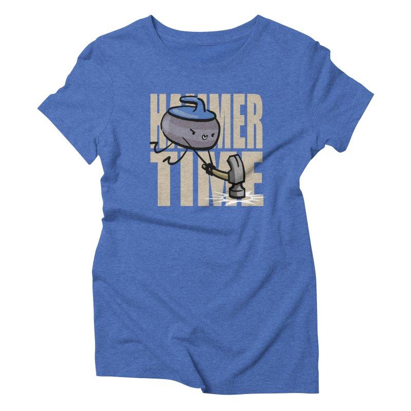 Hammer Time Women's Triblend T-Shirt by Friday the Shirteenth