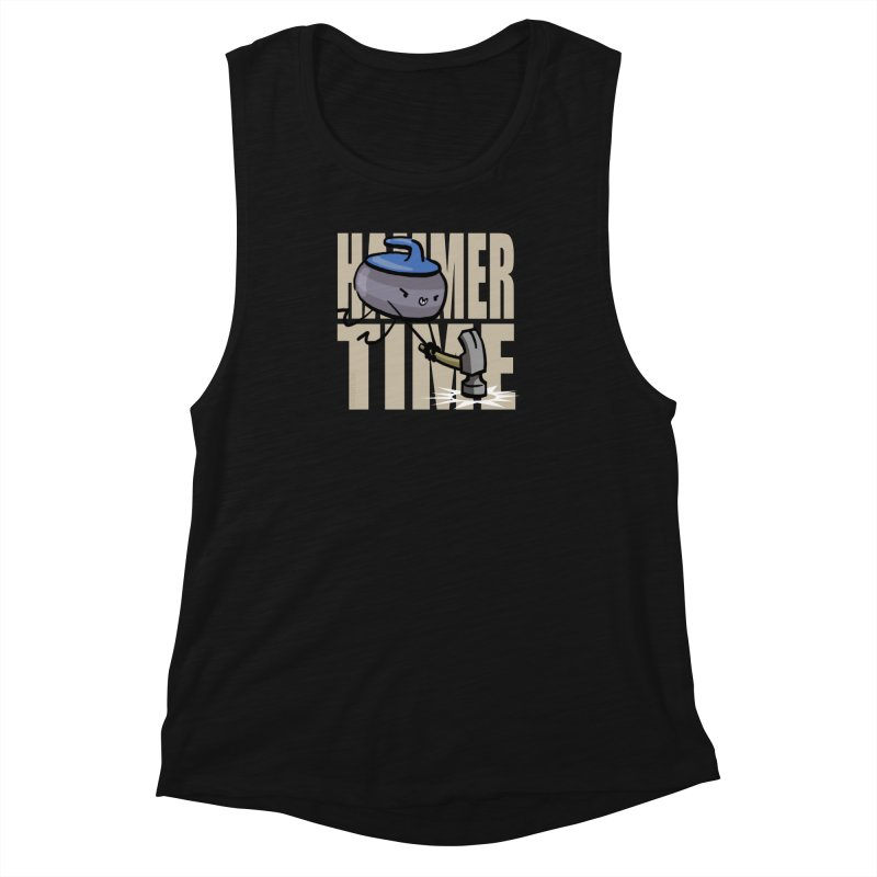 Hammer Time Women's Muscle Tank by Friday the Shirteenth