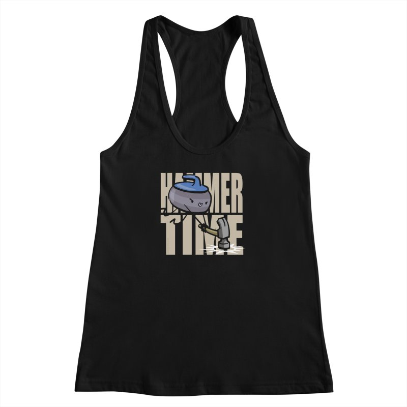 Hammer Time Women's Racerback Tank by Friday the Shirteenth