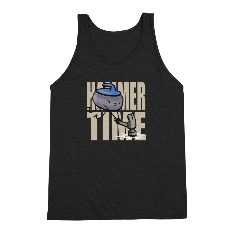 Hammer Time Men's Triblend Tank by Friday the Shirteenth