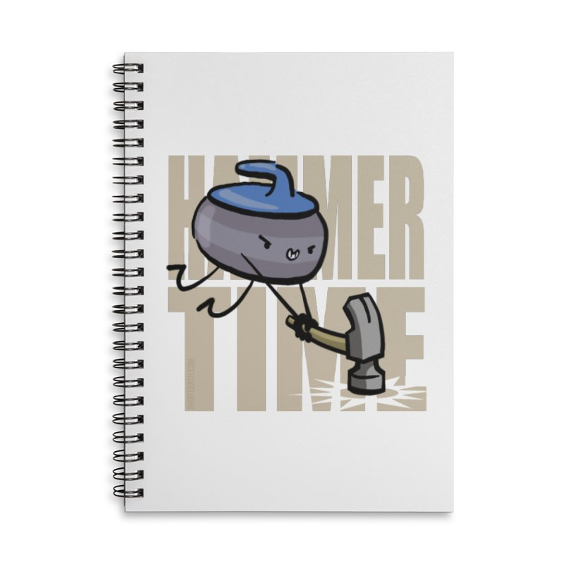 Hammer Time Accessories Lined Spiral Notebook by Friday the Shirteenth
