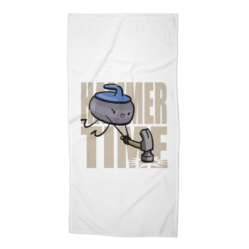 Hammer Time Accessories Beach Towel by Friday the Shirteenth