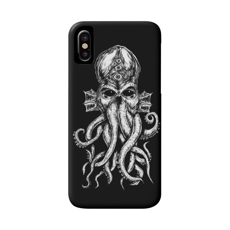 CTHULHU Accessories Phone Case by Vertebrae33