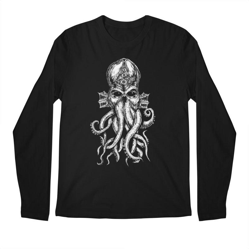 CTHULHU Men's Regular Longsleeve T-Shirt by Vertebrae33's Artist Shop
