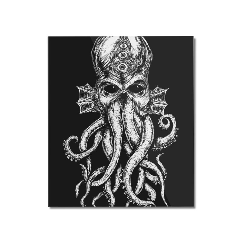 CTHULHU Home Mounted Acrylic Print by Vertebrae33