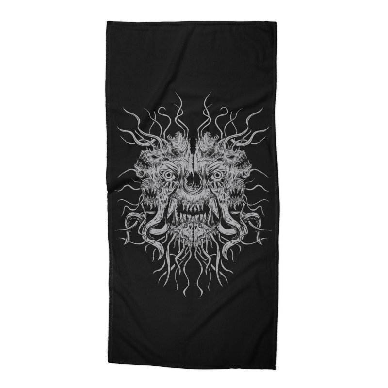 CRAWLING CHAOS Accessories Beach Towel by Vertebrae33's Artist Shop