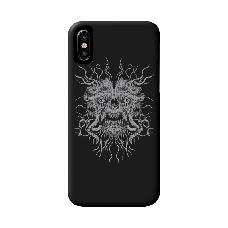 CRAWLING CHAOS Accessories Phone Case by Vertebrae33's Artist Shop