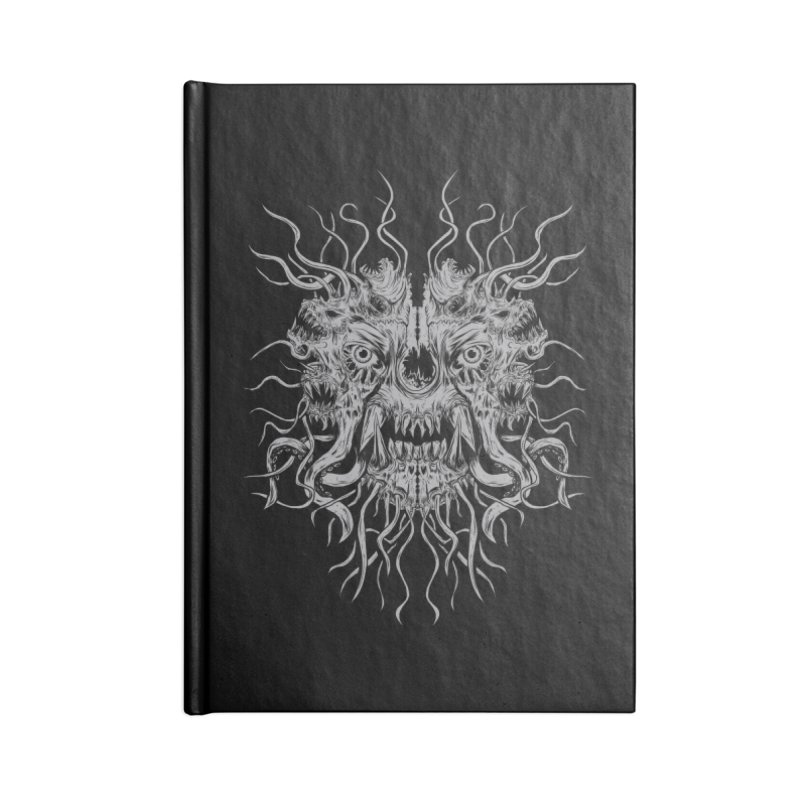 CRAWLING CHAOS Accessories Lined Journal Notebook by Vertebrae33