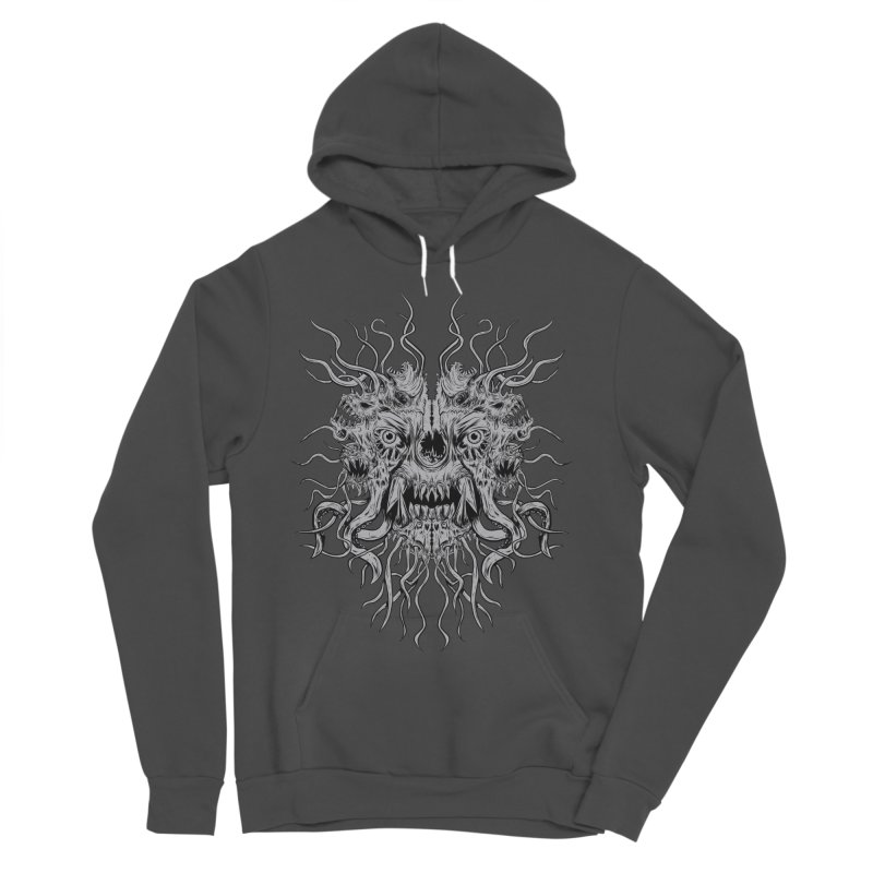 CRAWLING CHAOS Women's Sponge Fleece Pullover Hoody by Vertebrae33