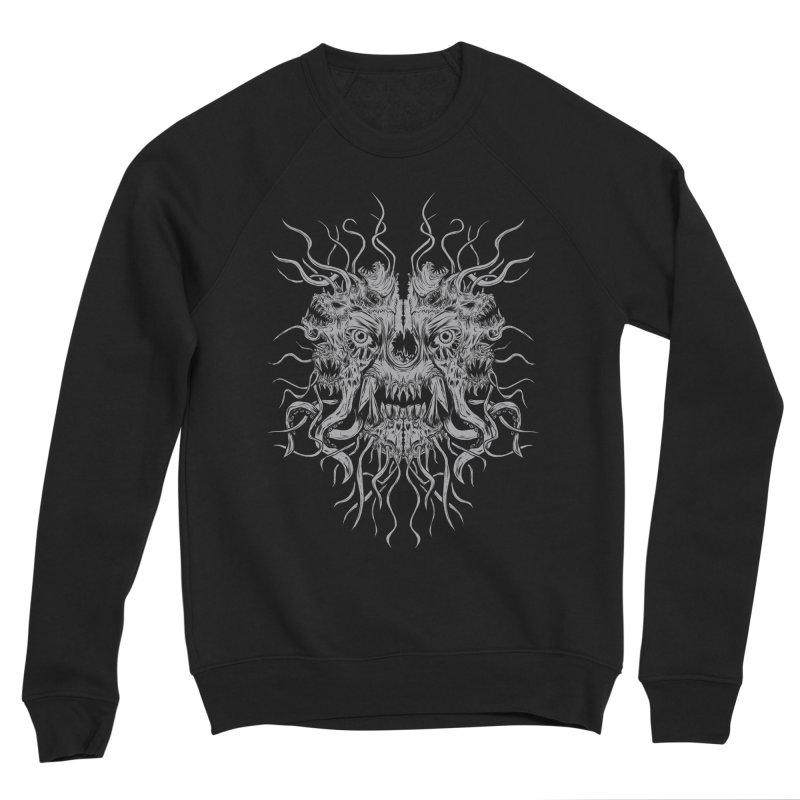 CRAWLING CHAOS Men's Sponge Fleece Sweatshirt by Vertebrae33