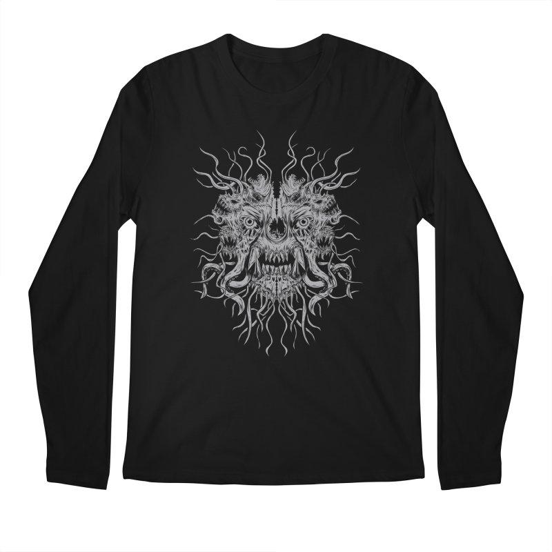 CRAWLING CHAOS Men's Regular Longsleeve T-Shirt by Vertebrae33's Artist Shop
