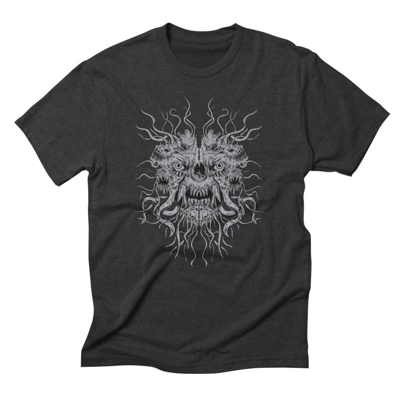 CRAWLING CHAOS Men's Triblend T-Shirt by Vertebrae33