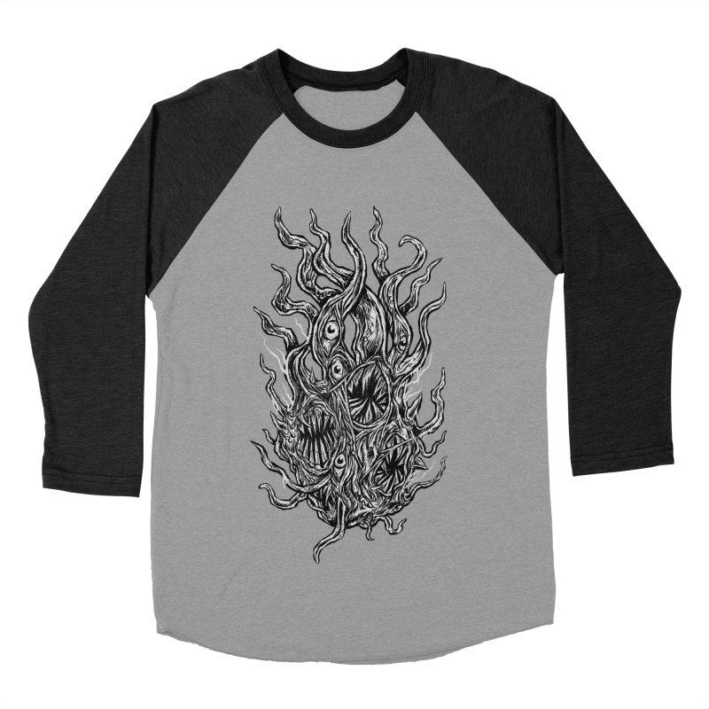 GURATH Women's Baseball Triblend Longsleeve T-Shirt by Vertebrae33