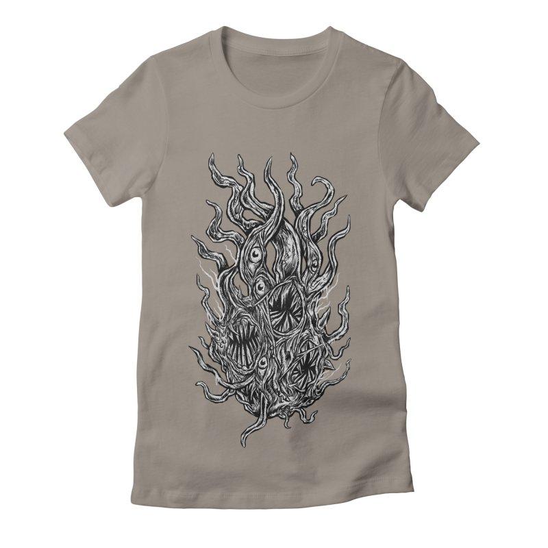 GURATH Women's Fitted T-Shirt by Vertebrae33