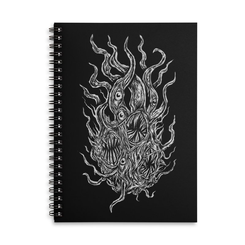 GURATH Accessories Lined Spiral Notebook by Vertebrae33