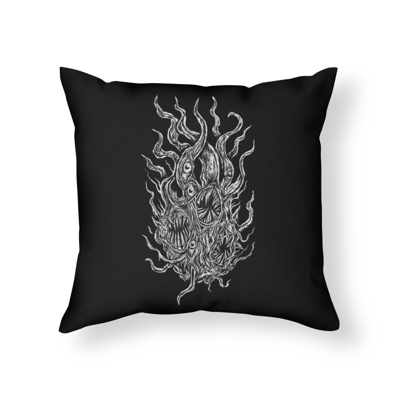 GURATH Home Throw Pillow by Vertebrae33