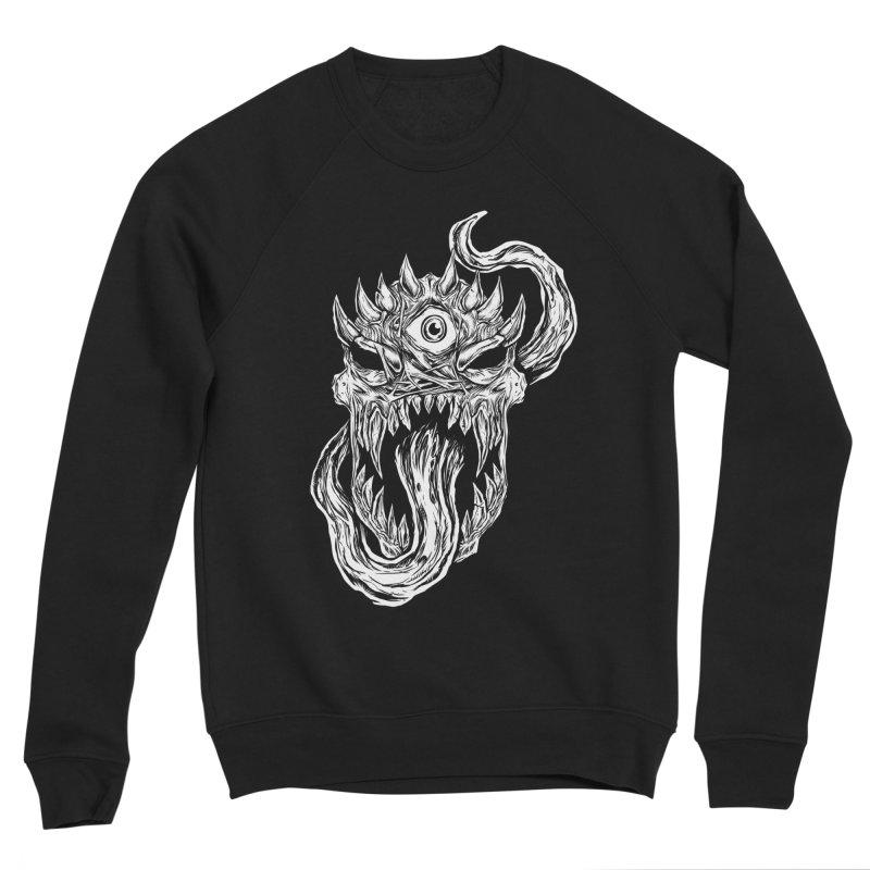TWITCHING TONGUE Men's Sponge Fleece Sweatshirt by Vertebrae33