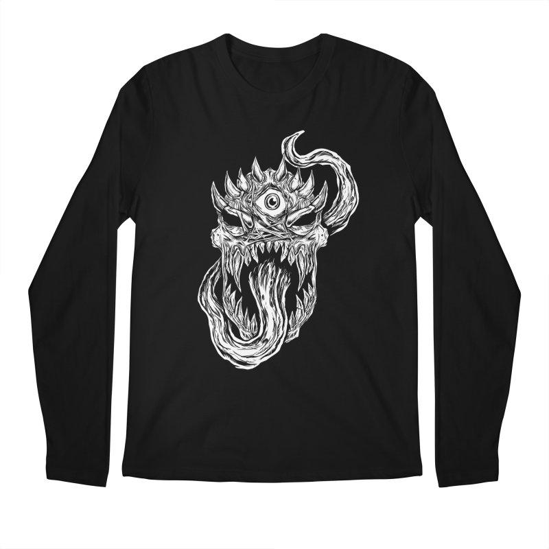 TWITCHING TONGUE Men's Regular Longsleeve T-Shirt by Vertebrae33's Artist Shop