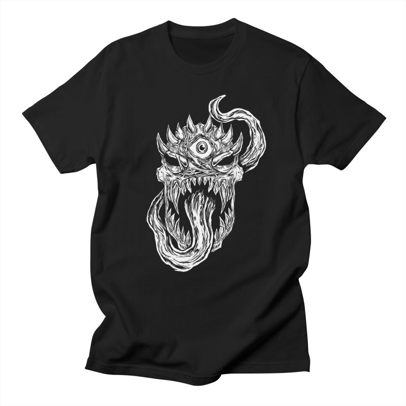 TWITCHING TONGUE Men's Regular T-Shirt by Vertebrae33's Artist Shop