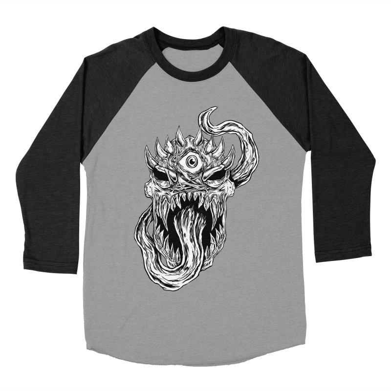 TWITCHING TONGUE Women's Baseball Triblend Longsleeve T-Shirt by Vertebrae33's Artist Shop