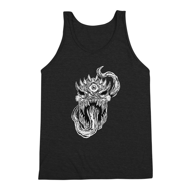 TWITCHING TONGUE Men's Triblend Tank by Vertebrae33