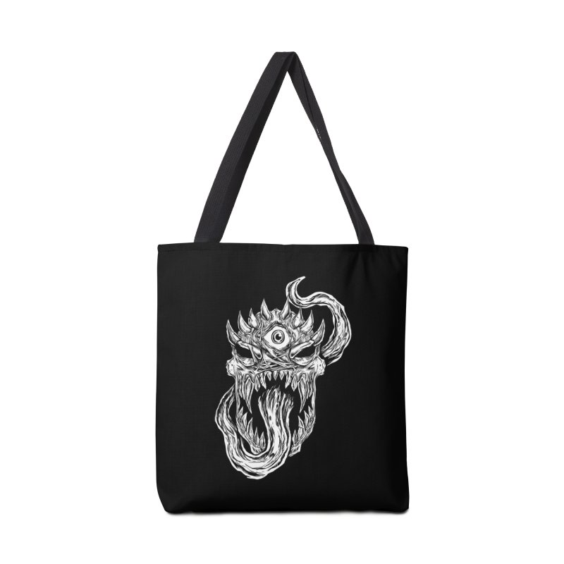 TWITCHING TONGUE Accessories Tote Bag Bag by Vertebrae33
