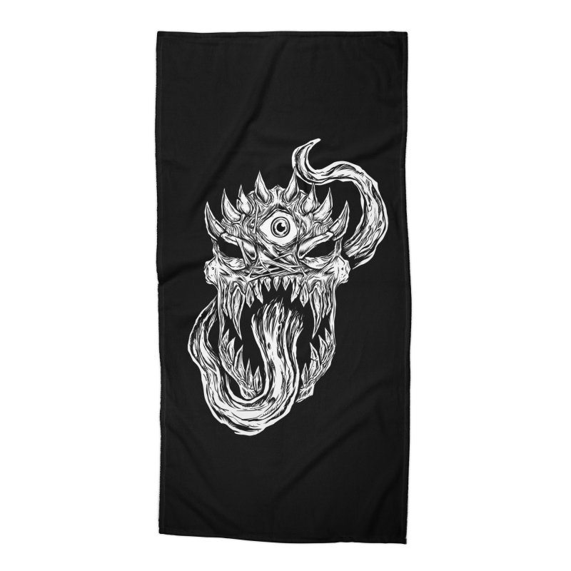 TWITCHING TONGUE Accessories Beach Towel by Vertebrae33's Artist Shop