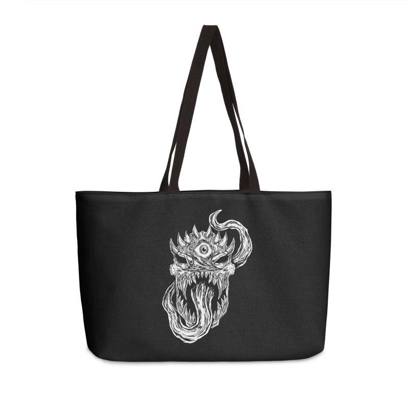 TWITCHING TONGUE Accessories Weekender Bag Bag by Vertebrae33