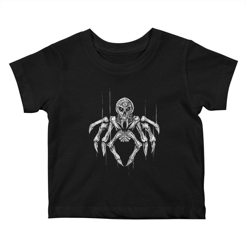 Quadratus Kids Baby T-Shirt by Vertebrae33